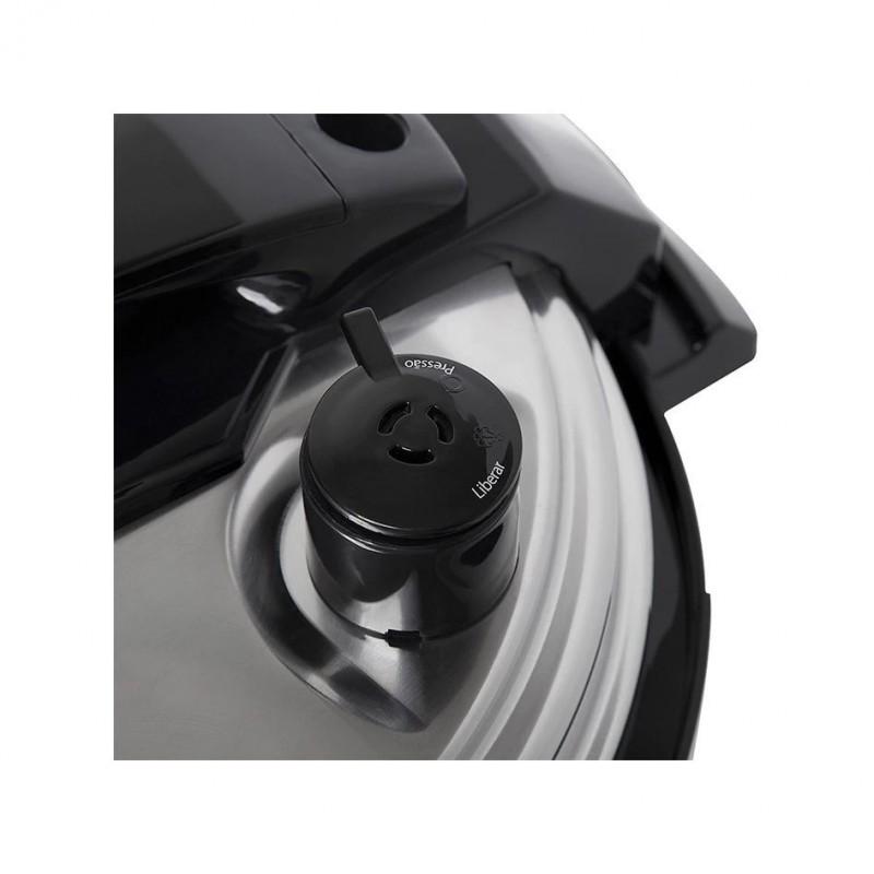 Panela de Pressão Elétrica Electrolux 5L 9 Dispositivos de Segurança Aço Escovado (PCE20)