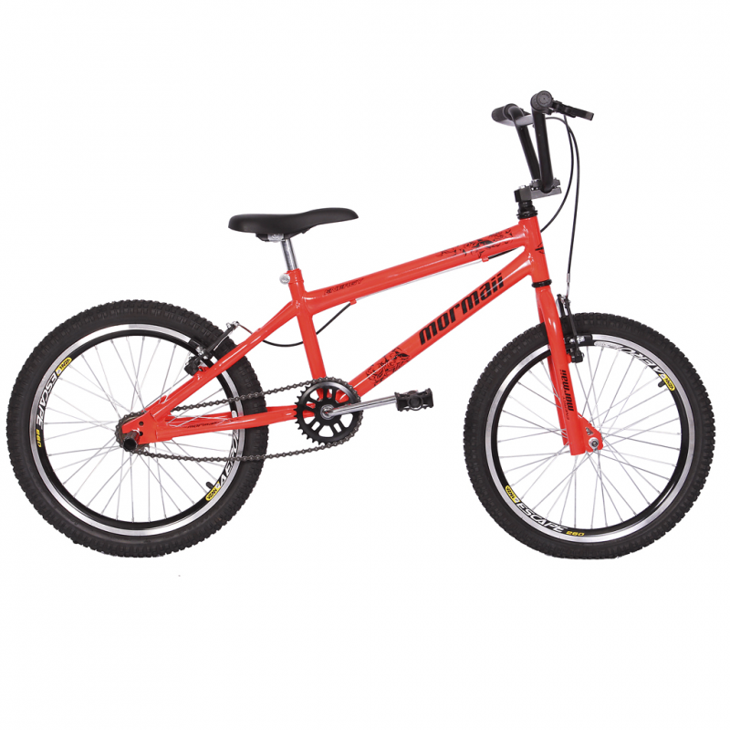 Bicicleta Mormaii Aro 20 Cross Energy Laranja Neon...