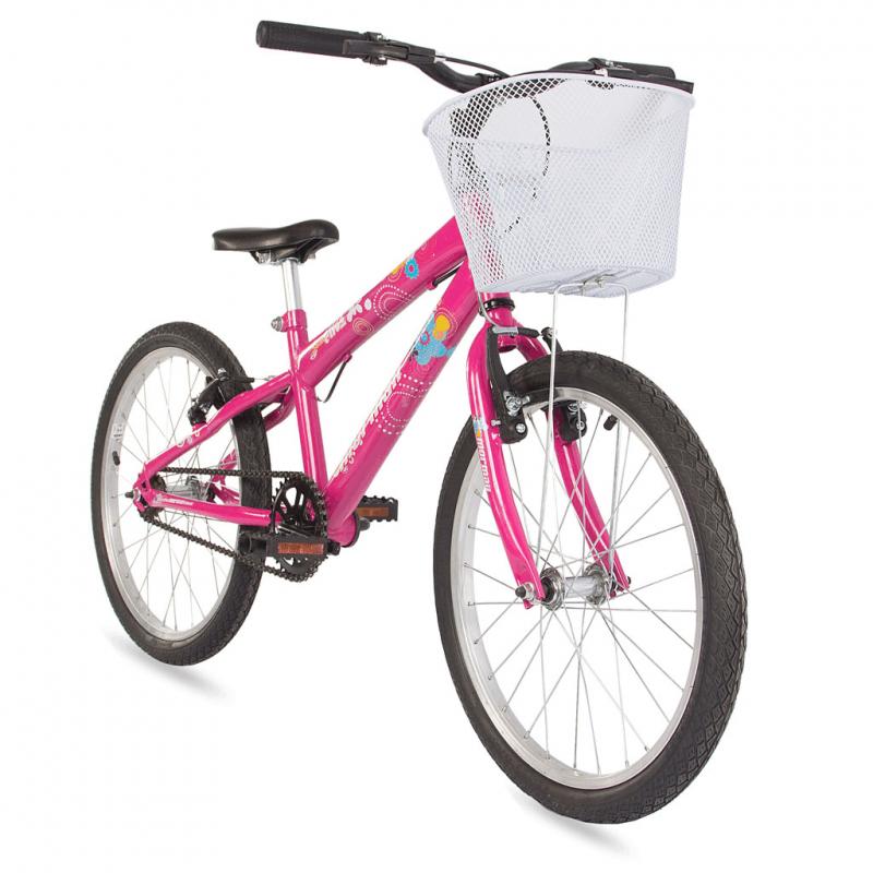 Bicicleta Mormaii Aro 20 Sweet Girl Rosa c/ Cesta – 2011711 – Mormaii