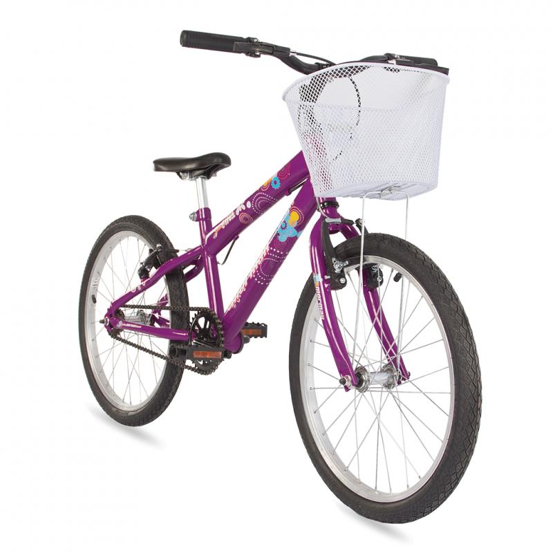 Bicicleta Mormaii Aro 20 Sweet Girl Violeta c/ Cesta – 2011712 – Mormaii