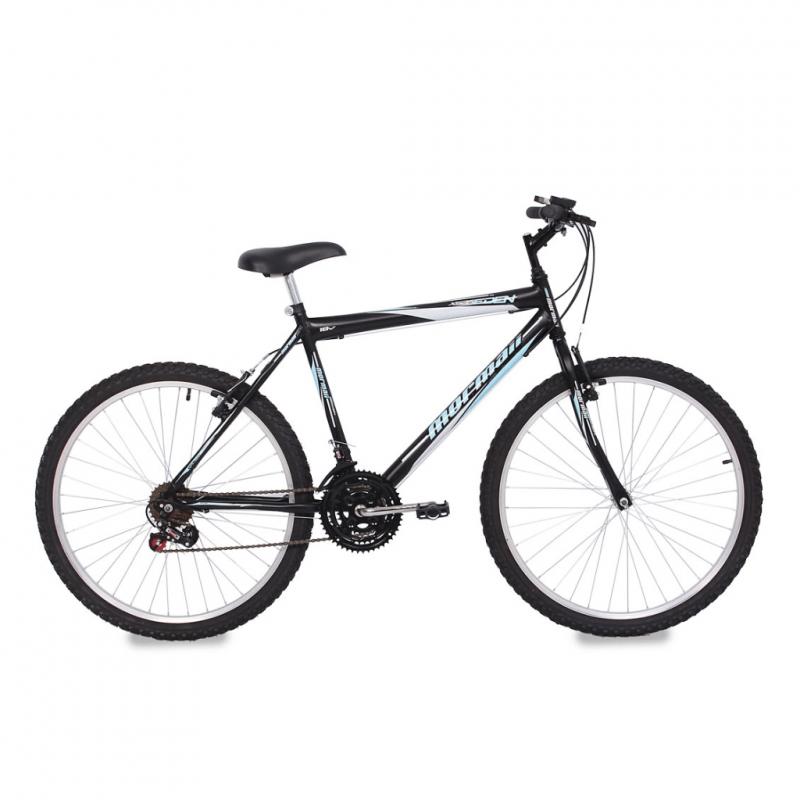 Bicicleta Mormaii Aro 26 18 Marchas Eden XS26 Pret...