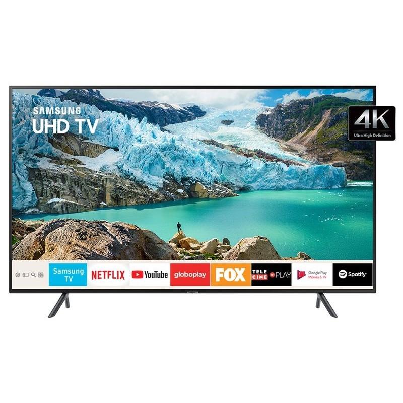 "Samsung Smart Tv Uhd 4k 50""Ru7100 Visual Livr..."