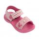 Sandália Mickey e Minnie Fun Baby Menina - Rosa/Rosa Escuro (21804)