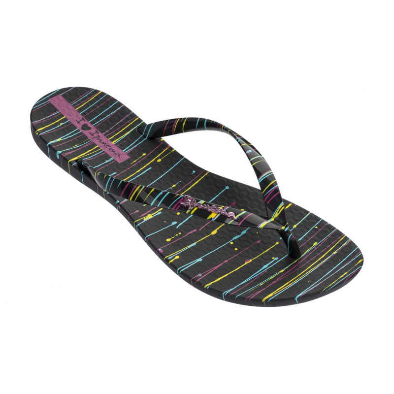 Chinelo Ipanema Wave Art - Preto/Preto (26287)
