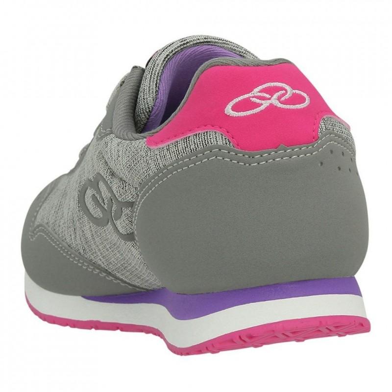 Tênis Olympikus Fancy Feminino - Cinza/Pink